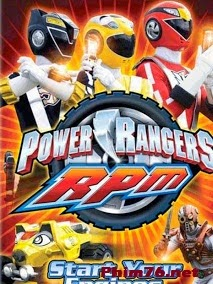 Siêu Nhân Rpm - Power Rangers Rpm