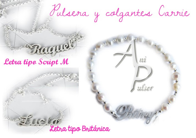 pulsera carrie