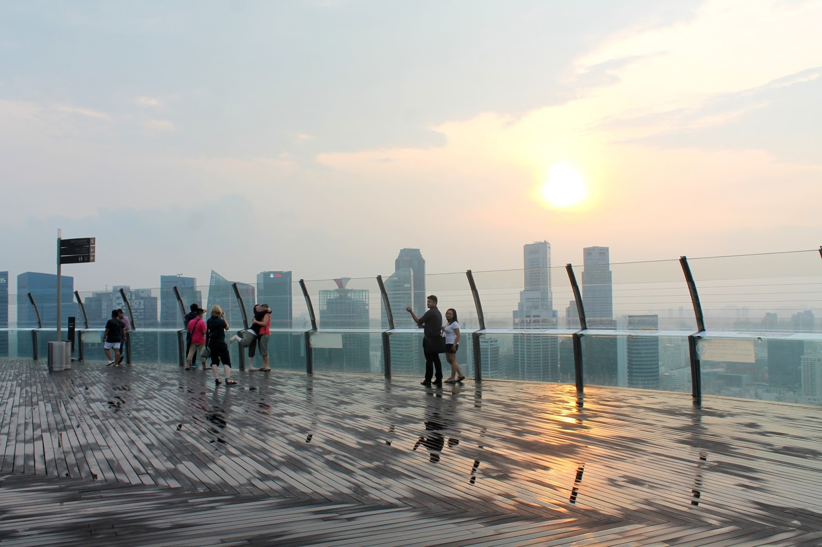 Marina Bay Sands Singapore Skydeck