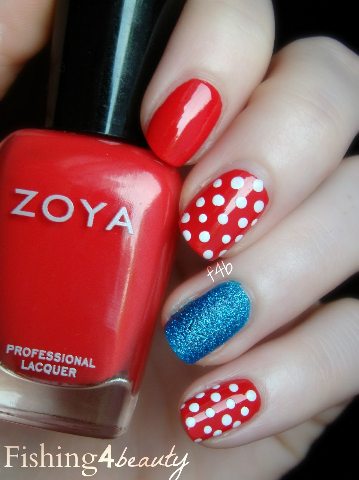 Fun Fourth Of July Nail Art With Zoya Nail Polish! | Zoya Nail ...