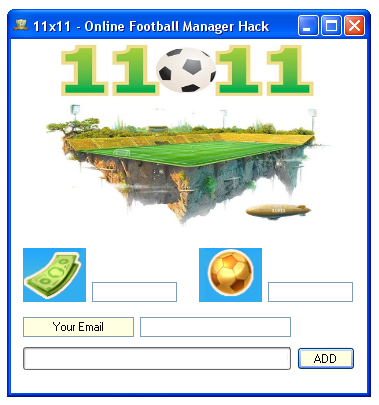11x11 Online Football Manager Hack. Features.