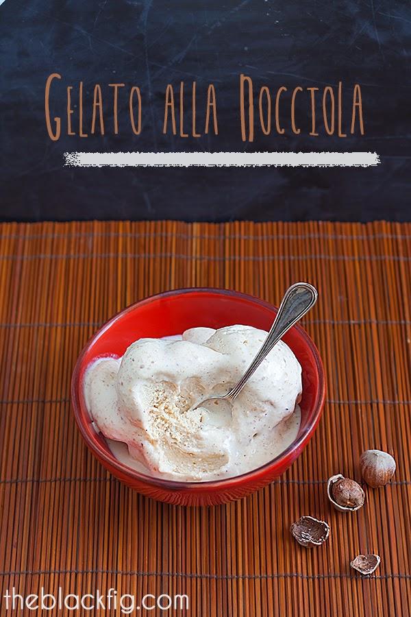gelato alla nocciola ricetta con gelatiera