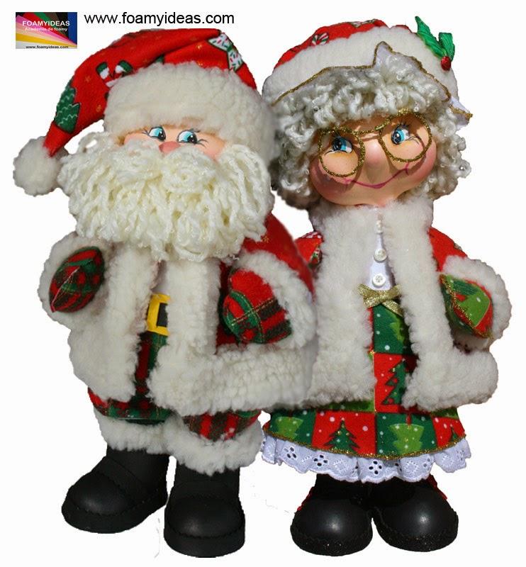 Imagenes de adornos de navidad en goma eva - Adornos navidenos goma eva ...