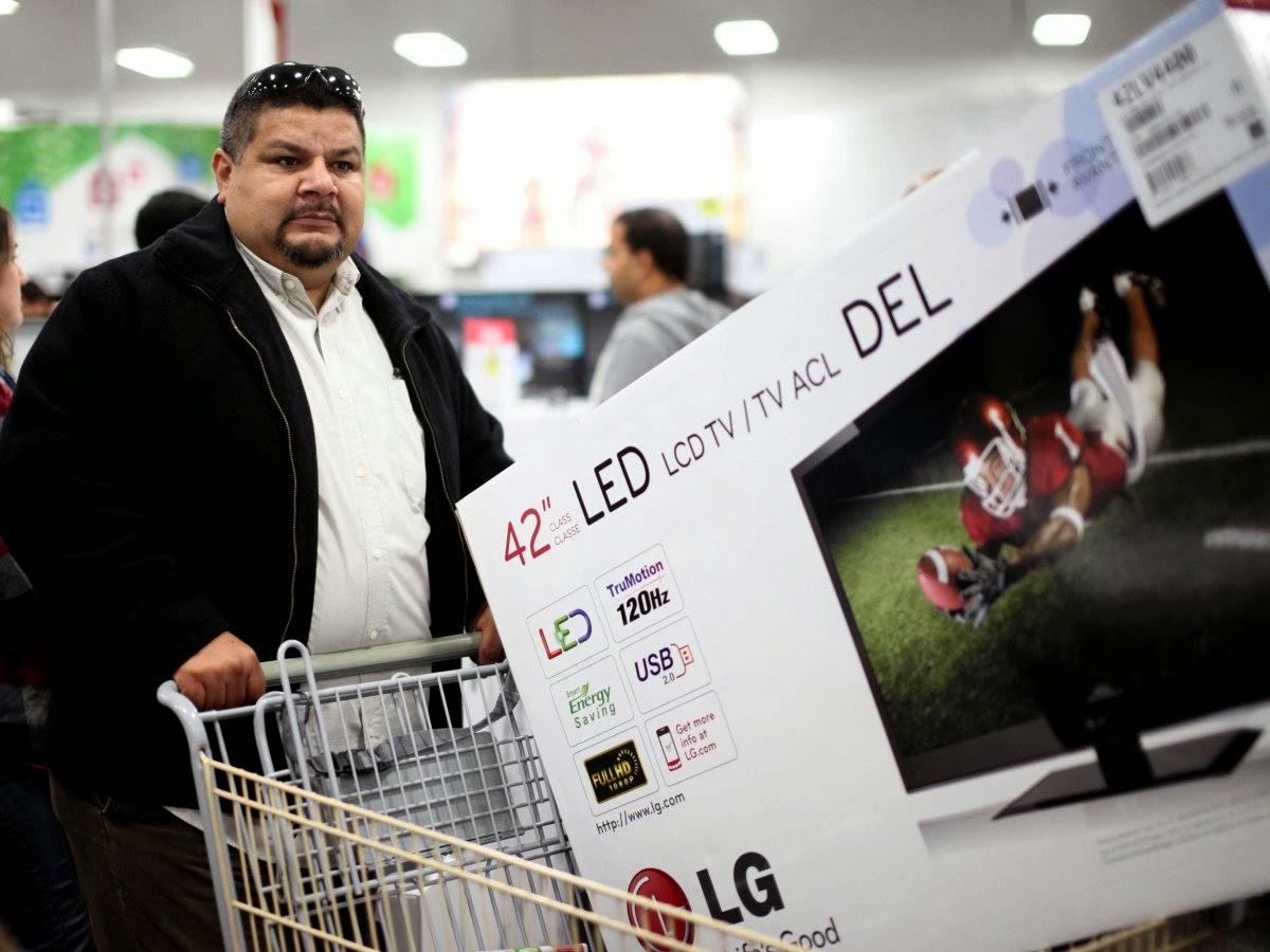 Большие корзины для покупок повышают продажи
