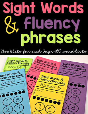 https://www.teacherspayteachers.com/Product/Sight-Word-Fluency-Phrase-Booklets-2219642
