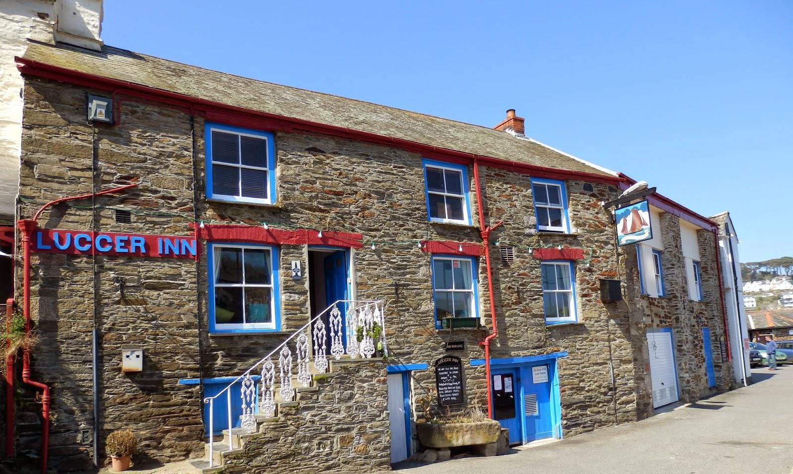 Lugger pub Polruan Cornwall