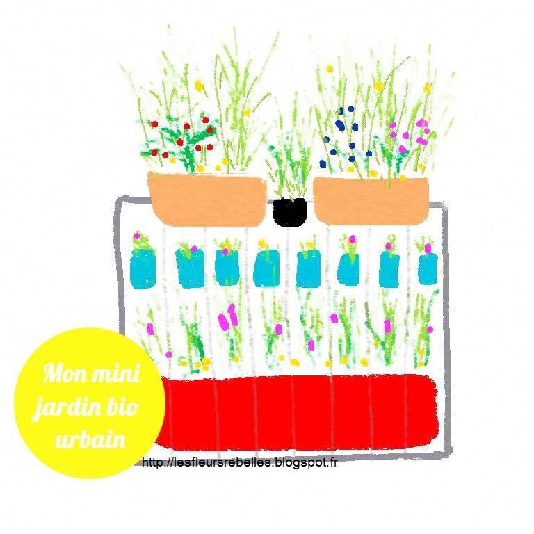 Les fleurs rebelles blog lifestyle diy mon mini for Wavre jardin urbain 2015