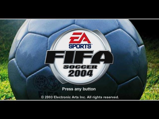 EA SPORTS FIFA 2004 PC Game