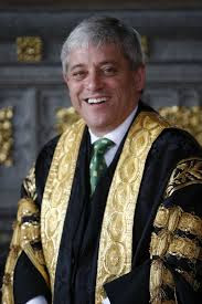 Bercow in robes