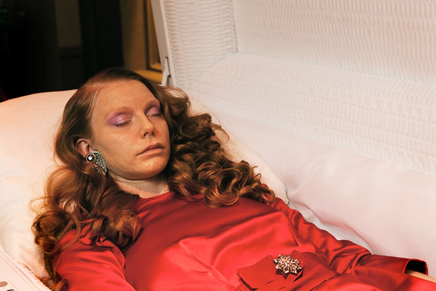 brandy mcdonald vice magazine funeral makeup