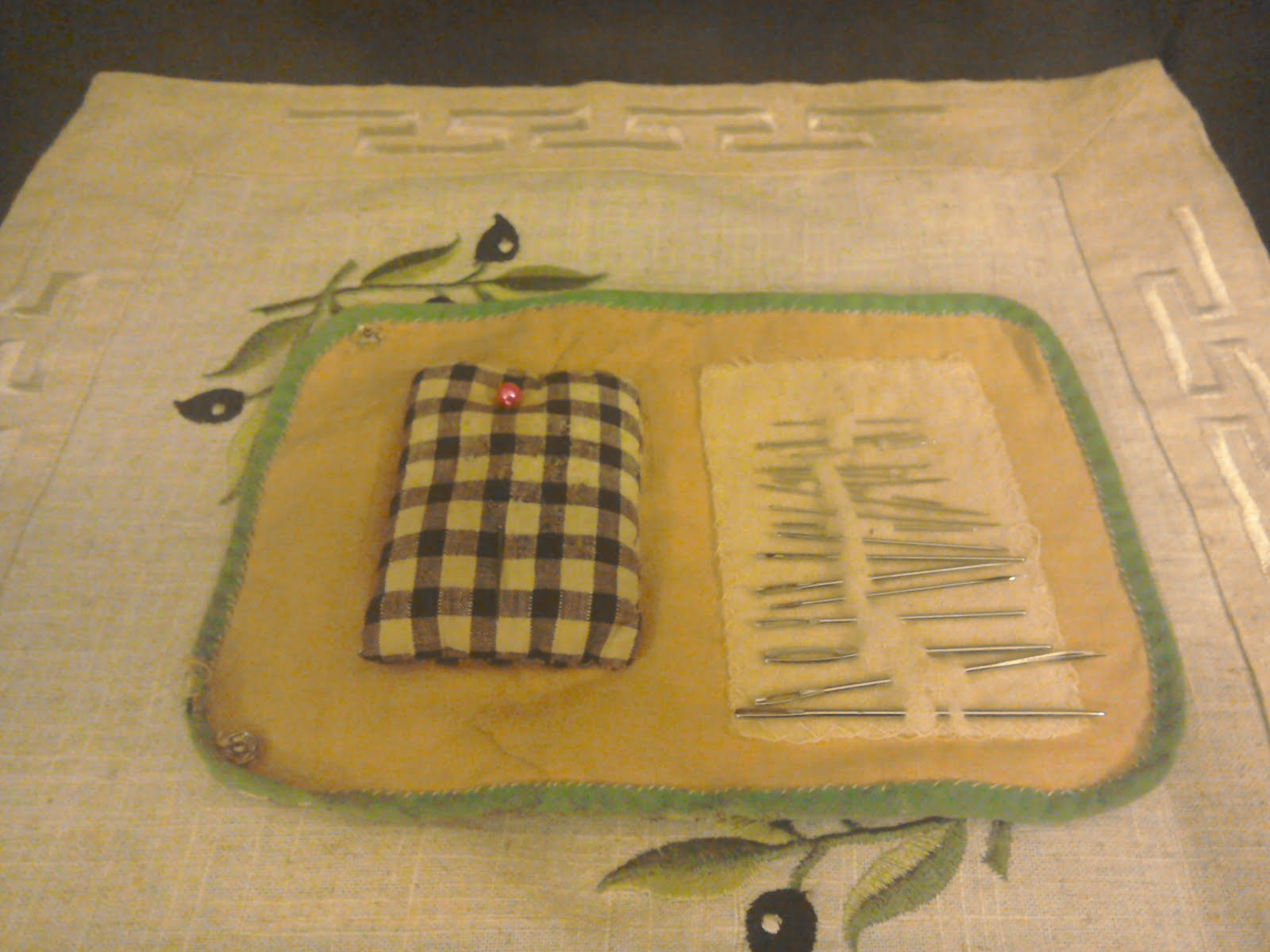 Lyn's needlework from Court Lane