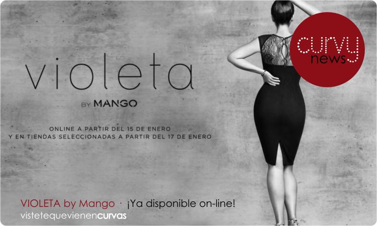 Violeta by Mango tienda online · Curvy News