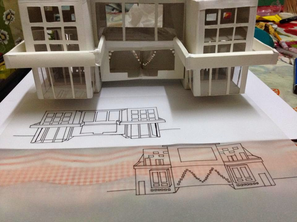 Ust Architecture Drawing Exam