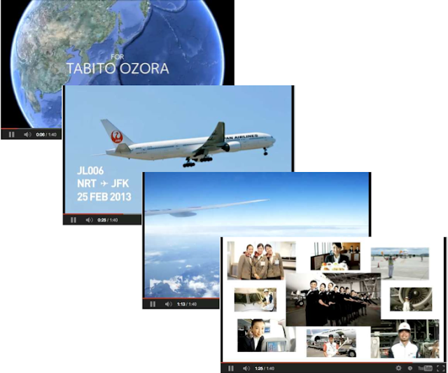 Video summary from JAL SKY SHARE