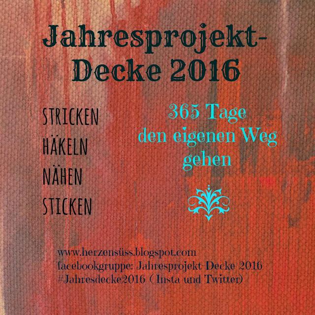 In 2016 dabei - Projekt Jahresdecke!