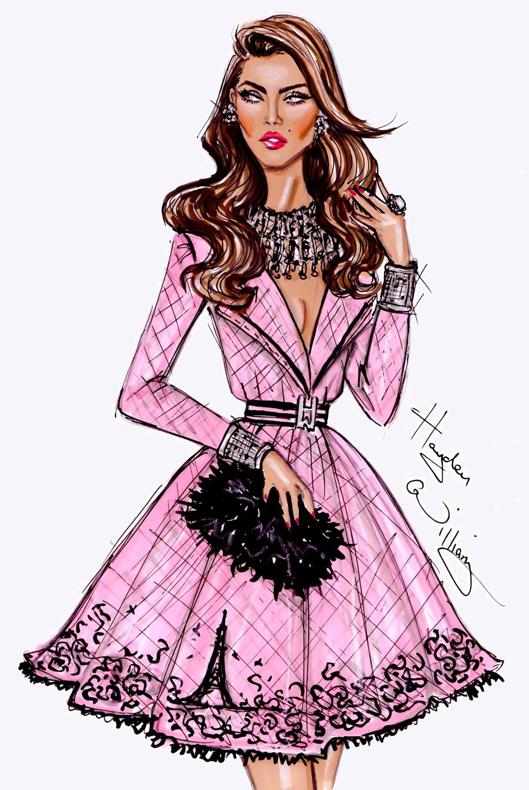 Fashion Illustrations Hayden Williams Fashio...