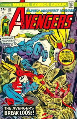 Avengers #143