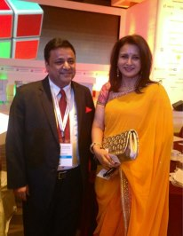 sandeep soni with poonam dhillon