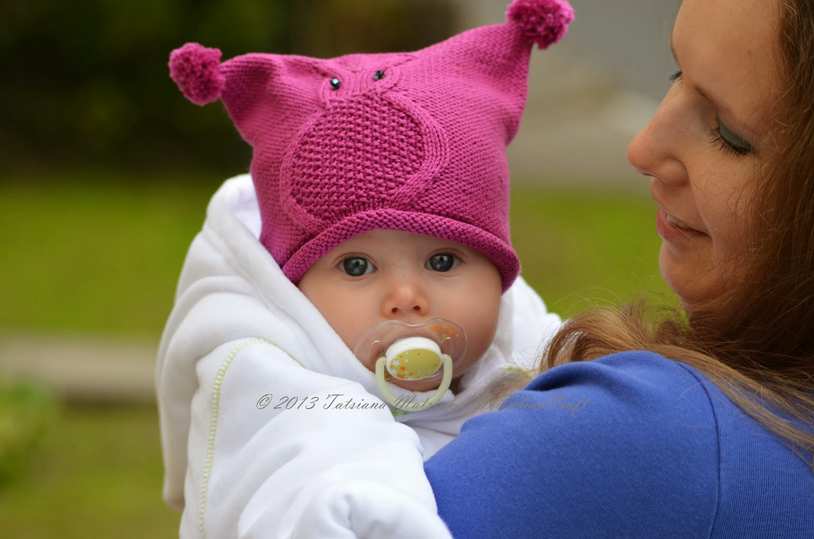 Owl Baby Hat Knitting Pattern | ViTalina Craft
