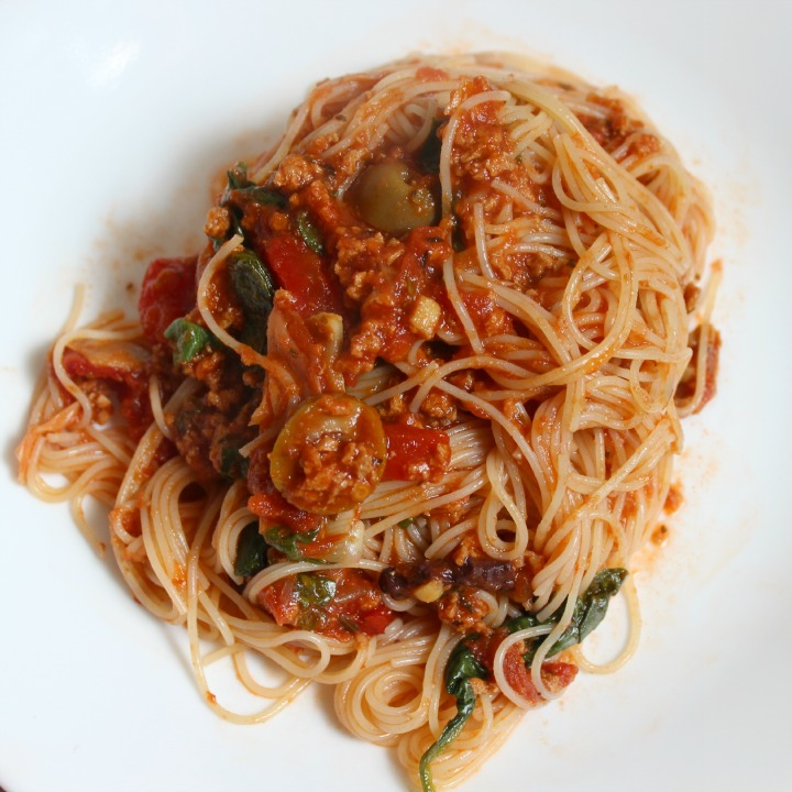 #SimmeredInTradition Ragu Pasta Night