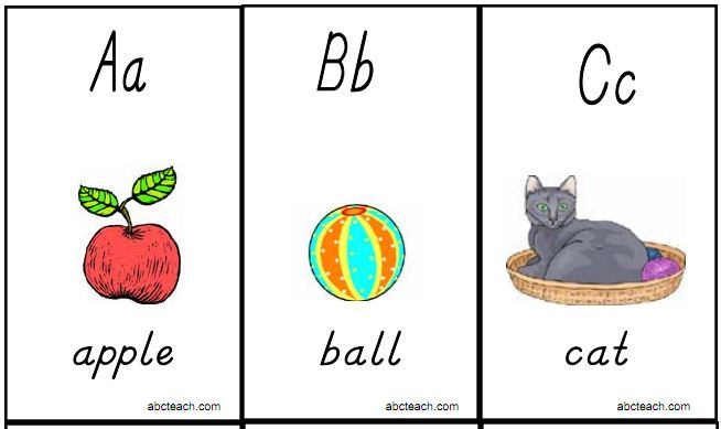 This is an image of Exceptional Printable Abc Flash Cards