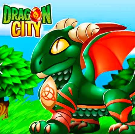 imagen de la oferta del dragon celtico de dragon city