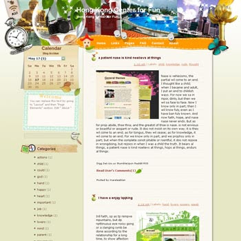 Hong Kong Center for Fun Blogger Template