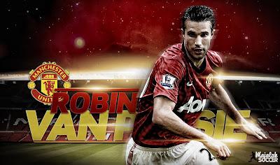 Robin Van Persie - Manchester United MU - Wallpaper Sepakbola Terbaru 2012-2013