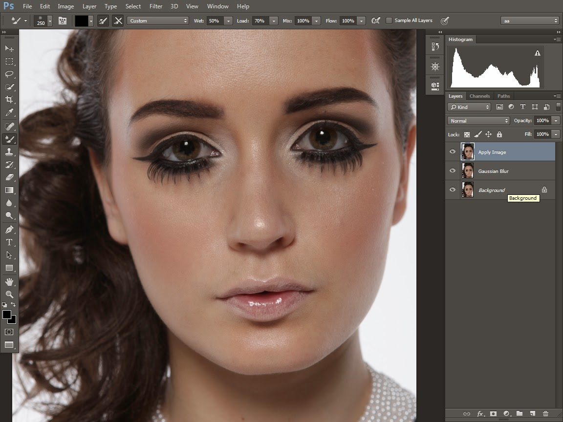Tutorial Simple High and Beauty Retouching
