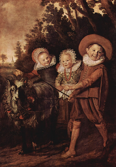Frans Hals, children portrait,children painting