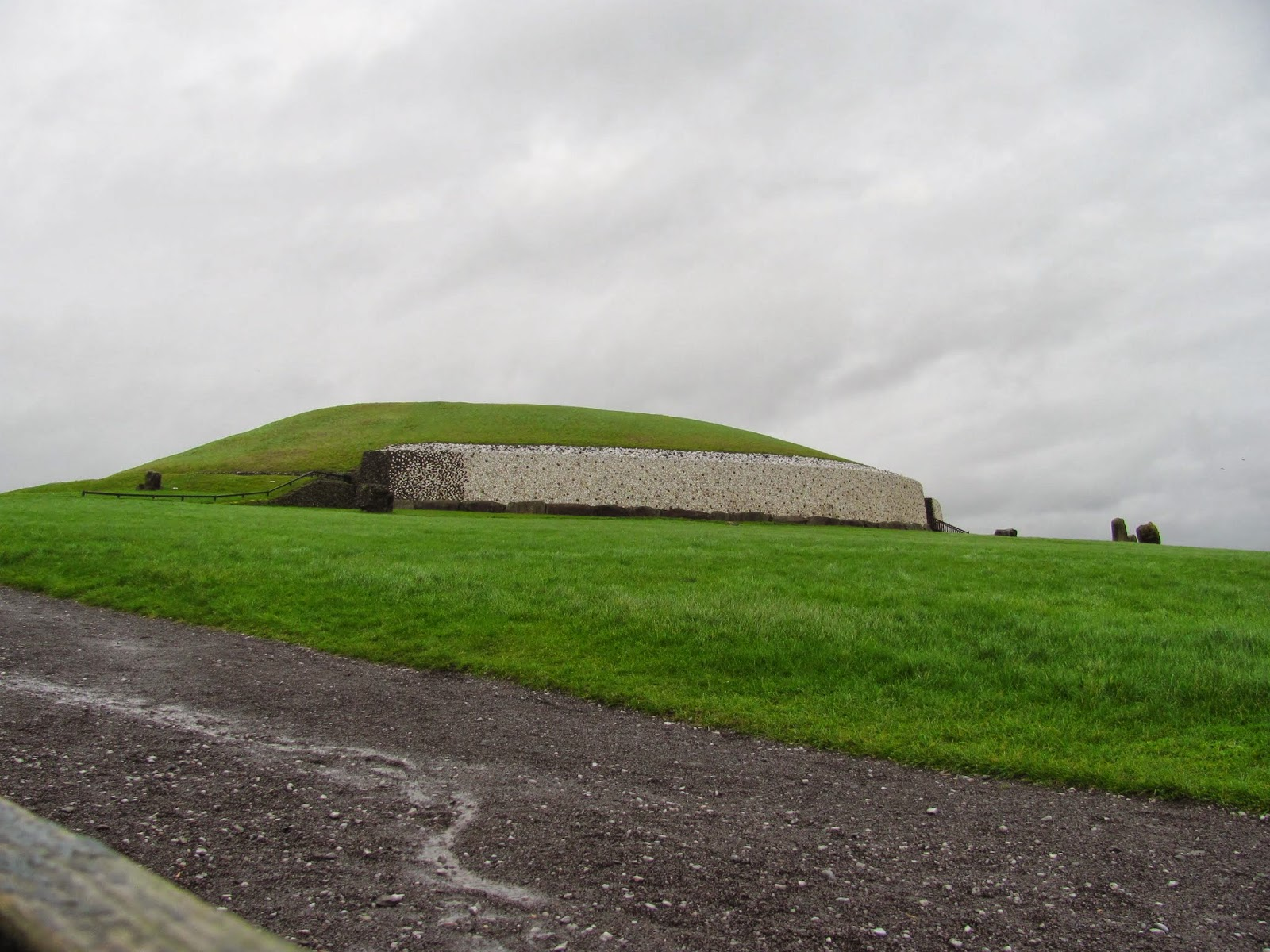View of Newgrange from Bottom of the Hill Co. Meath, Ireland