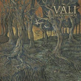 Vàli Skogslandskap, bức tranh rừng tối
