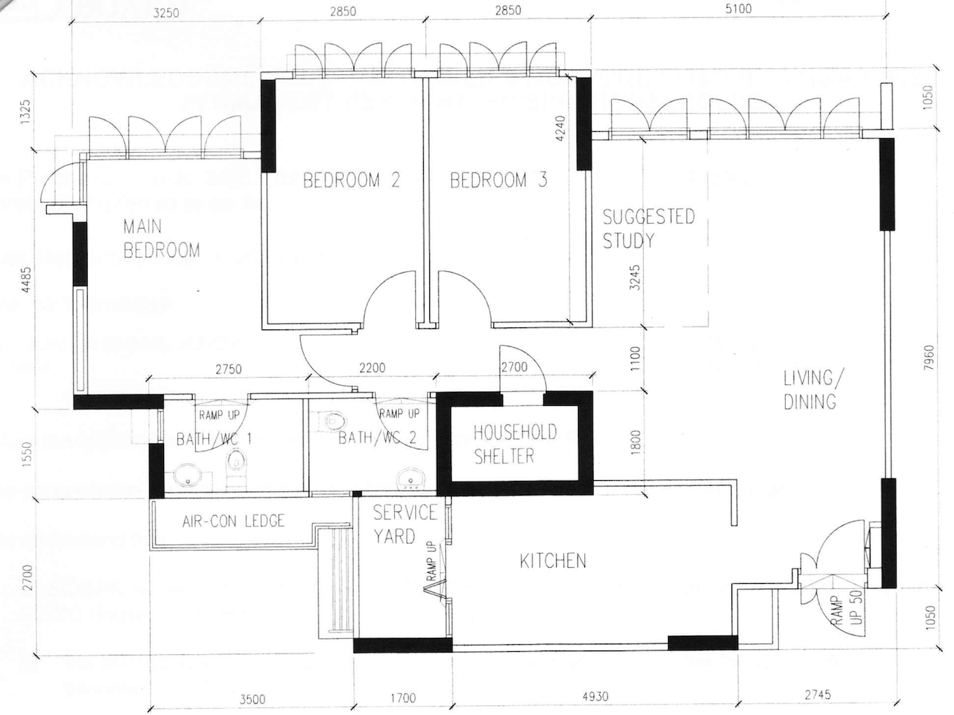 Just2me blackberry development part i Sketchup floorplan