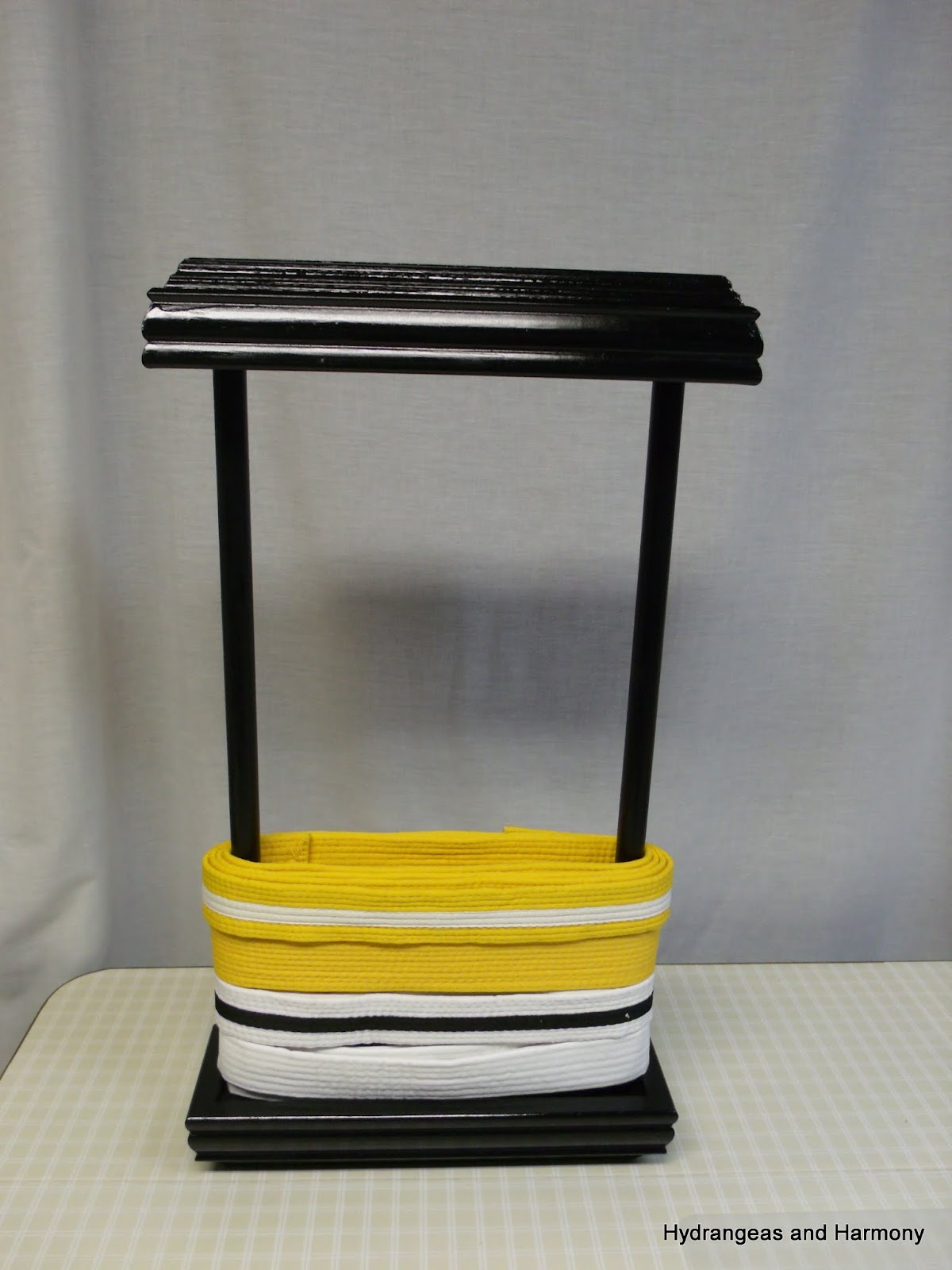 Karate belt display ideas - Diy Martial Arts Belt Display Holder