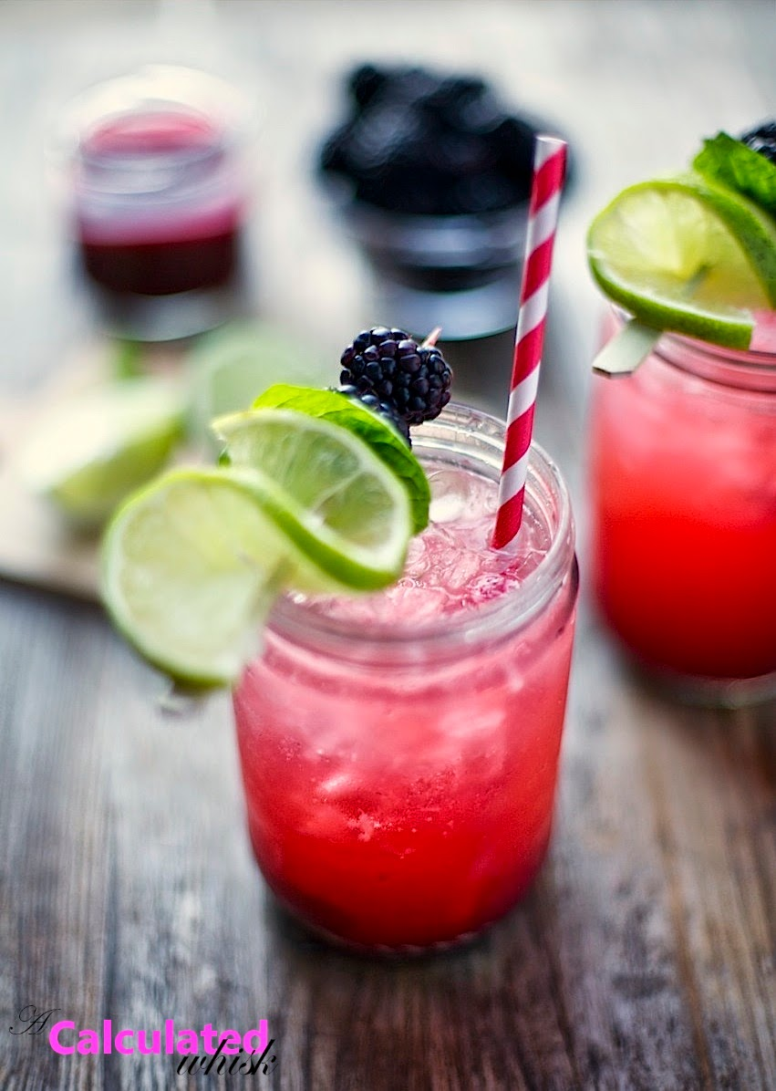 Blackberry Smash | 10 Paleo Recipes for Summertime Celebrations on acalculatedwhisk.com