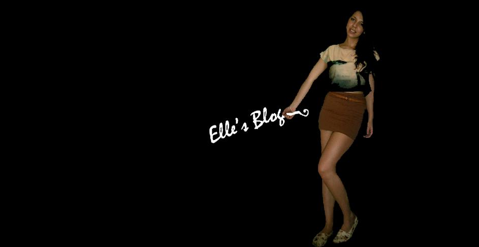 Elle's Blog