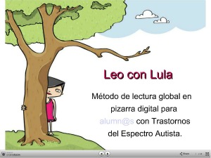 Lectura global para niños con TEA