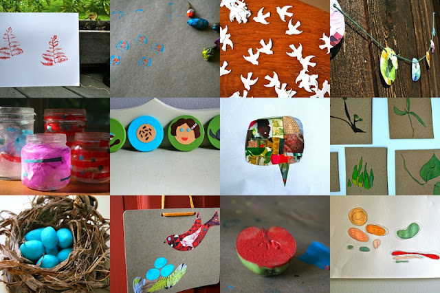 Creative storytelling crafts - Red Bird Crafts