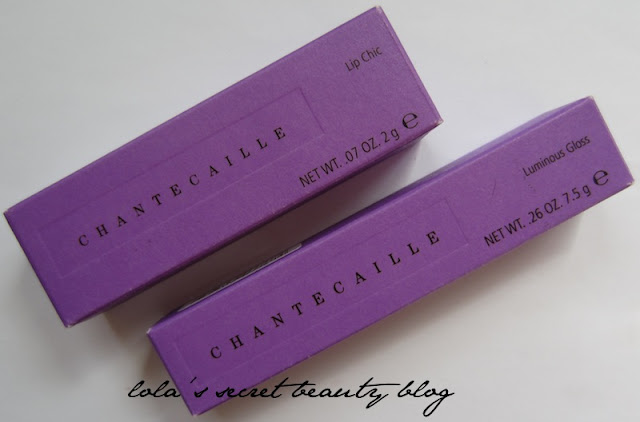 lola's secret beauty blog: Chantecaille Lip Chic in Daphne & Luminous Gloss in Pink Melon: Review and Swatches