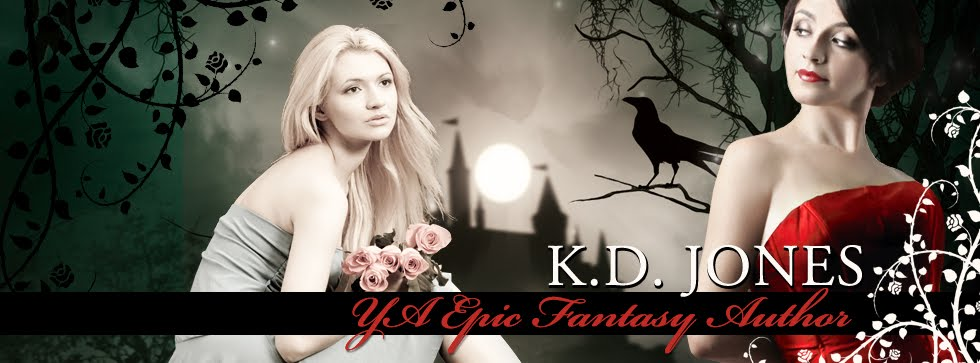 K. D. Jones - YA Epic Fantasy Author