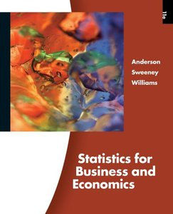 solution manual statistics for business and economics 11th edition