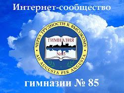 Интернет-сообщество гимназии №85