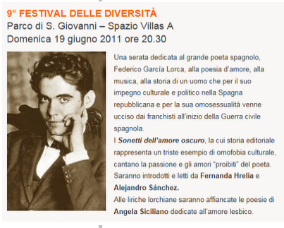 Amore di... versi, a Trieste: