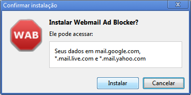 bloquear banner yahoo email