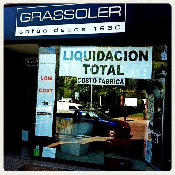 Liquidación total de Grassoler: Sofás y sillones desde 1960
