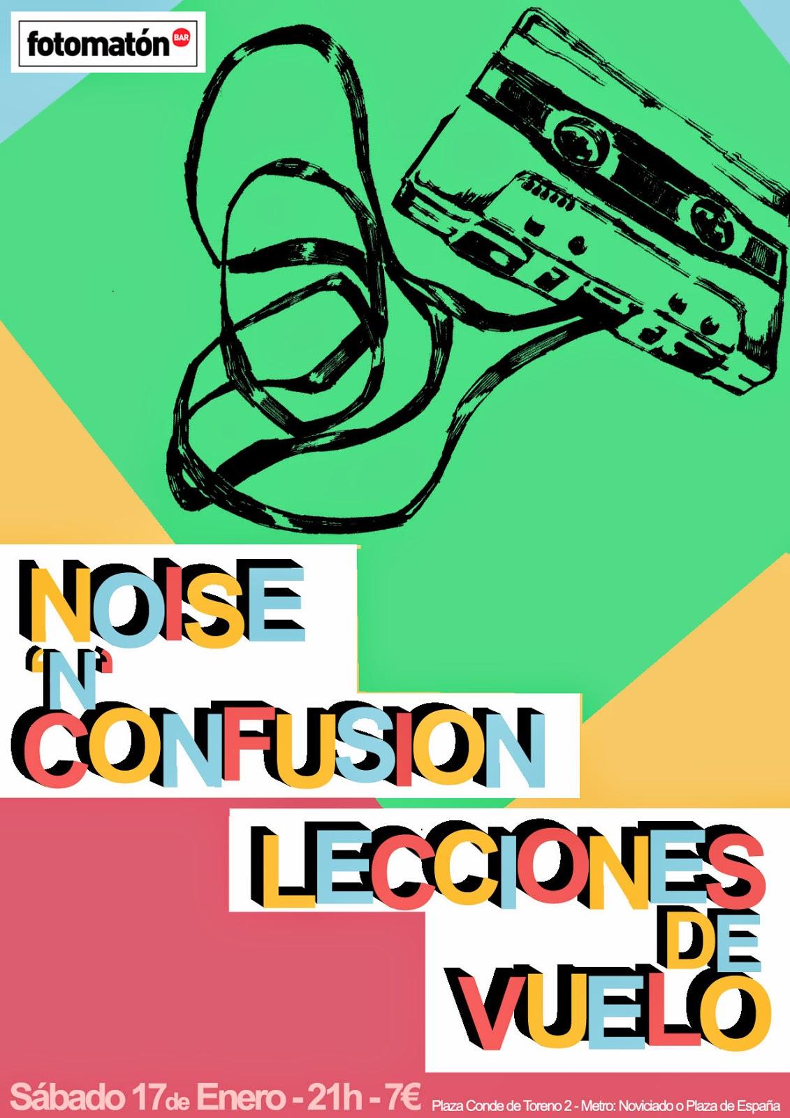 Noise n Confusion presenta Picnic en el Fotomatón de Madrid junto a Lecciones de vuelo