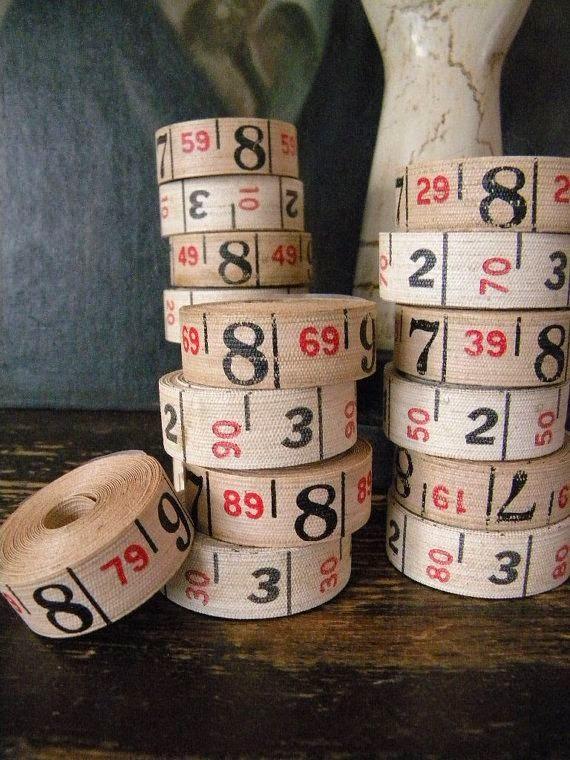 cintas métricas antiguas