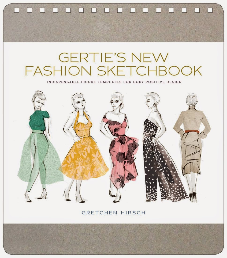 Fashion Book Cover Design ~ Gertie s new for better sewing coming soon