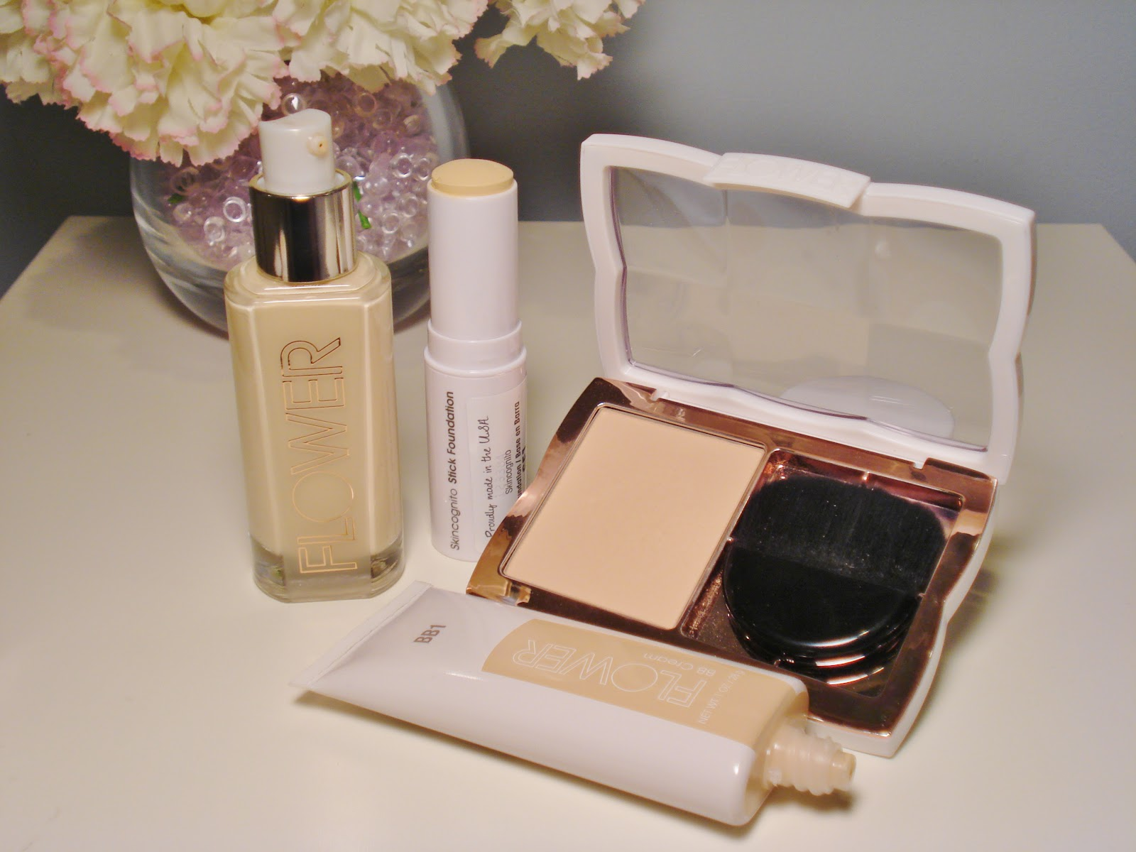 Flower beauty from drew barrymore first impressions makeupwednesday izmirmasajfo