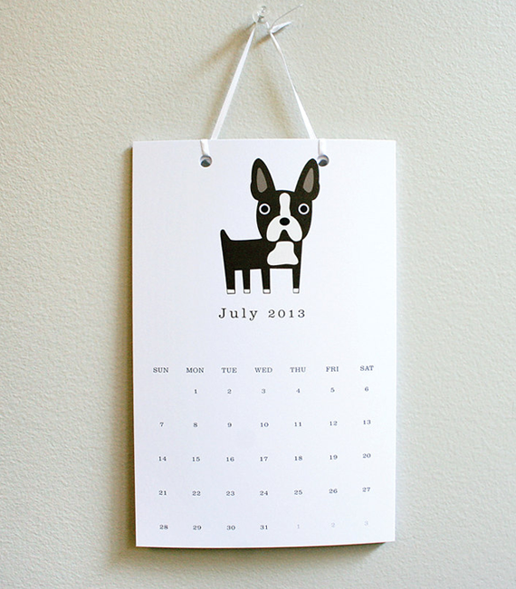 Dog Calendar Ideas : Five wall calendars for Пет предложения за